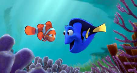 Nemo's Father and Dory
