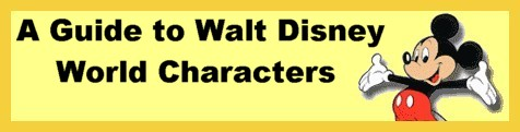 Guide to WDW Characters