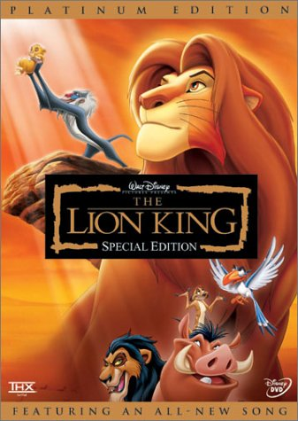 The Lion King DVD (Pre-Order Here)