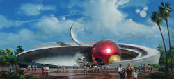 Mission: Space Concept Art